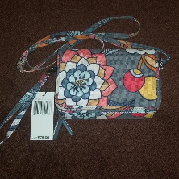 Vera Bradley Handbags - All-in-One Crossbody Vera Bradley Tropical Evening